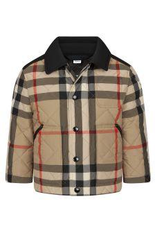Burberry Kids Beige Jacket