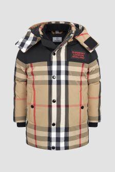 Burberry Kids Boys Beige Jacket
