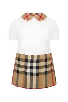 Burberry Kids Beige Dress