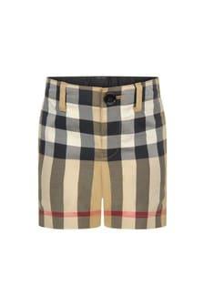 Burberry Kids Baby Beige Shorts