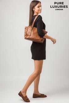 Pure Luxuries London Homerton Leather Handbag