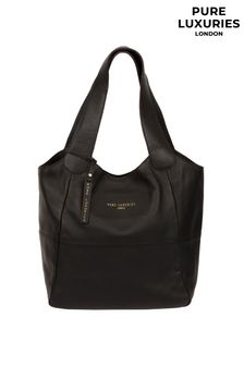 Pure Luxuries London Langdon Leather Tote Bag