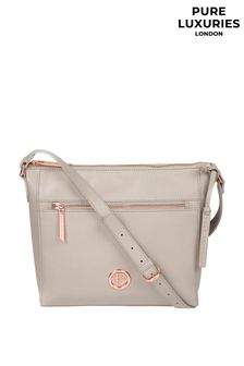 Pure Luxuries London Byrne Leather Cross Body Bag