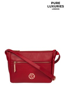 Pure Luxuries London Matisse Leather Cross Body Bag