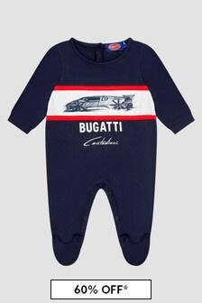Bugatti Baby Boys Navy Sleepsuit