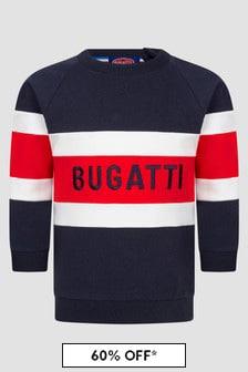 Bugatti Baby Boys Navy Sweat Top