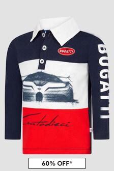 Bugatti Baby Boys Navy Polo Shirt