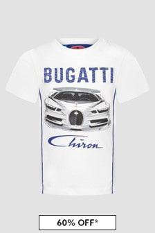 Bugatti Baby Boys White T-Shirt