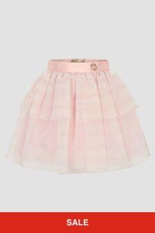 ELIE SAAB Girls Pink Skirt