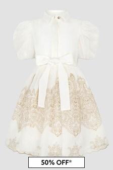 ELIE SAAB Cream Dress