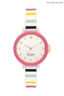 kate spade new york Park Row Candy Stripe Watch
