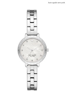 kate spade new york Morningside Silver Watch