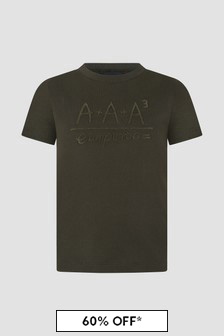 Emporio Armani Khaki T-Shirt