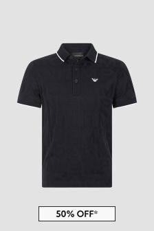 Emporio Armani Navy Polo Shirt