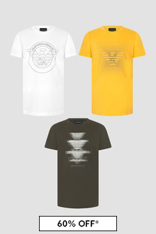 Emporio Armani Multi T-Shirts 3 Pack