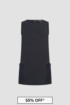Emporio Armani Girls Navy Dress