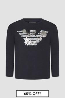 Emporio Armani Navy T-Shirt