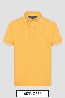 Emporio Armani Yellow Polo Shirt