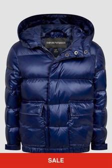 Emporio Armani Blue Jacket