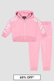 Emporio Armani Pink Tracksuit
