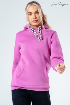 Hype. Lilac Drawstring Pullover Hoodie
