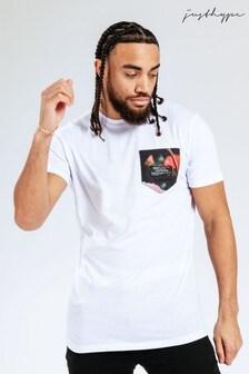 Hype. Rose Pocket T-Shirt