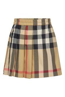 Burberry Kids Baby Beige Skirt