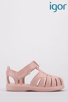 Igor Pale Pink Tobby Solid Sandals