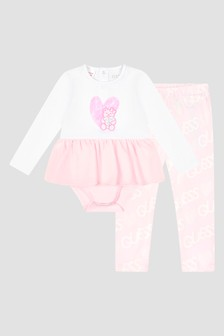 Guess Baby  White Set