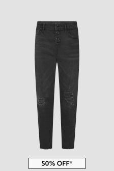 Guess Girls Black Jeans