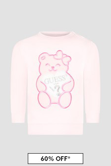 Guess Baby Pink Sweat Top