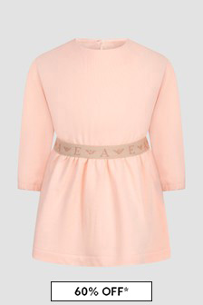 Emporio Armani Baby Girls Pink Dress