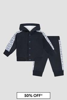 Emporio Armani Baby Boys Navy Tracksuit