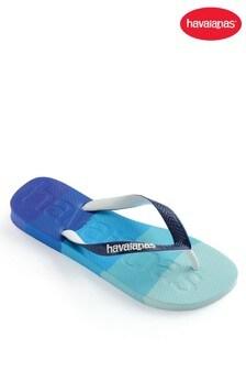 Havaianas Blue Top Logomania Multicolour Flip Flops