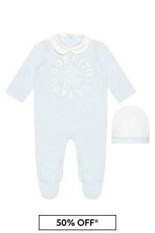 Roberto Cavalli Baby Boys Blue Sleepsuit Set