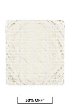 Roberto Cavalli White Blanket