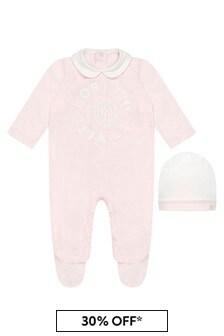 Roberto Cavalli Pink Sleepsuit