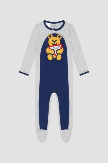 Guess Baby Grey Sleepsuit