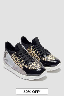 Guess Girls Black Trainers