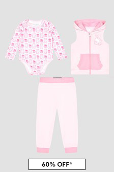 Guess Baby Pink Set
