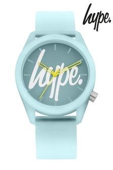 Hype. Mint Script Watch