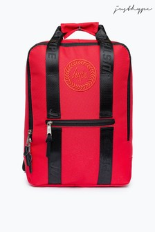 Hype. Red Boxy Backpack