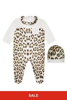 Roberto Cavalli Animal Sleepsuit Set