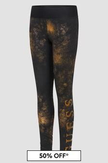 Guess Girls Gold Leggings