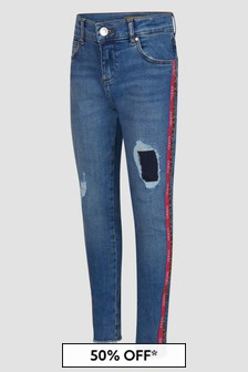 Guess Girls Blue Jeans