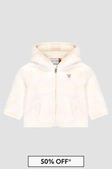 Guess Girls White Jacket
