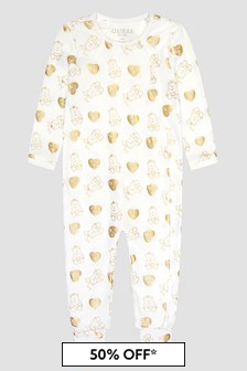 Guess White Sleepsuit