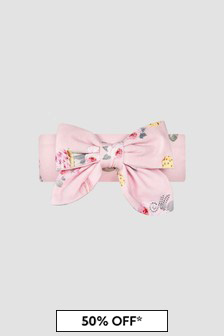 Monnalisa Baby Girls Pink Hairband