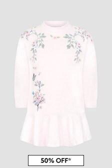 Monnalisa Girls Pink Dress