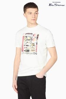 Ben Sherman Ivory Festival Essentials T-Shirt